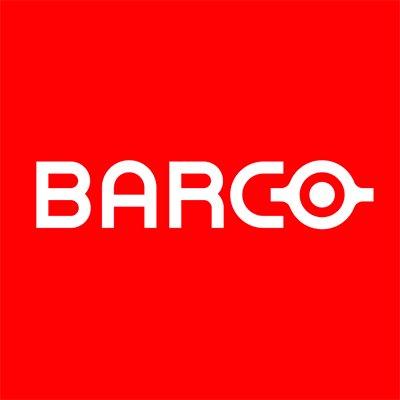 Barco Logo in Rotem Quadrat