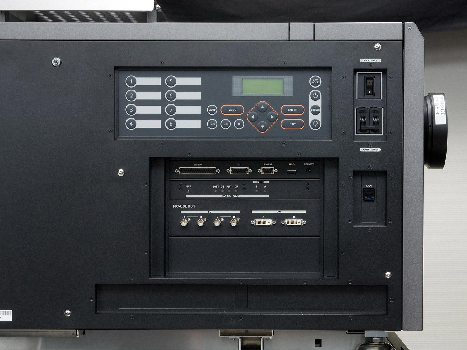 NC3240S-ProjectorDetailViewButtons